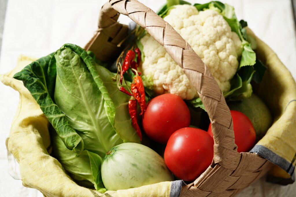 北海道ニセコの夏野菜
