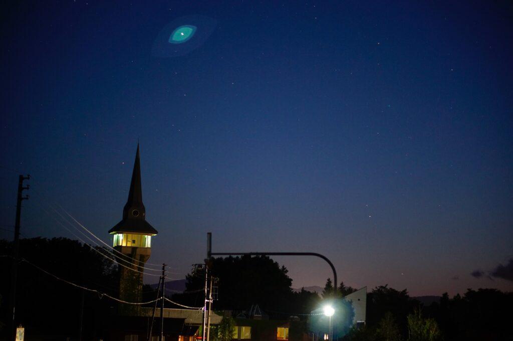 ニセコ有島記念館と星空